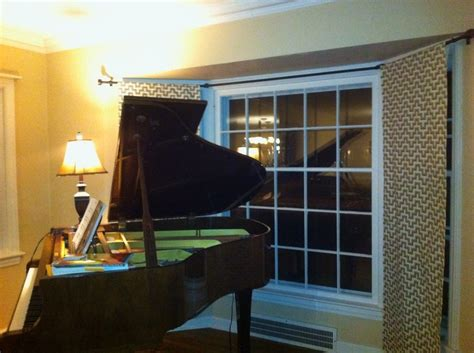 bay window curtain rods lowes on diy curtain rod for
