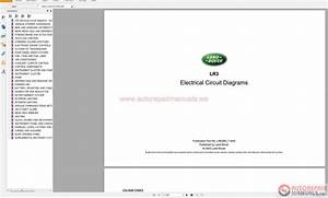 Land Rover Lr3 Nas 2005-2009 Electrical Circuit Diagrams