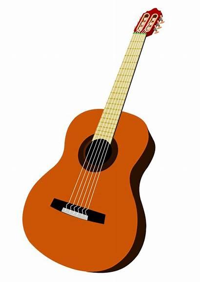 Guitar Clip Clipart Gitarre Classic Designs Cliparts