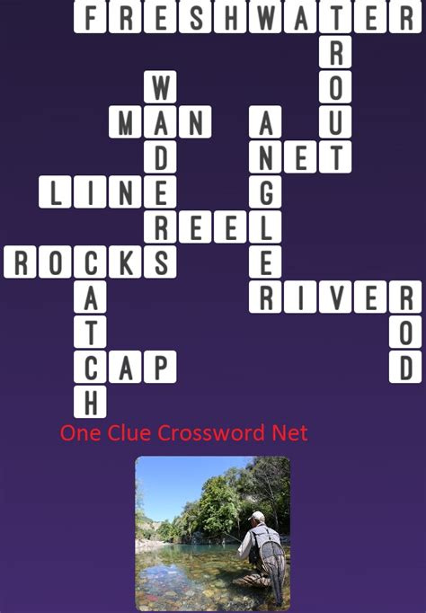 Fishing Float Crossword Puzzle Clue by River One Clue Crossword
