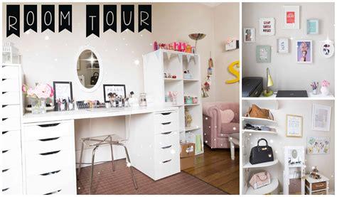 etagere de bureau ikea room tour rangement makeup idées déco diy