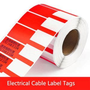 china customized electrical cable label tags  wire