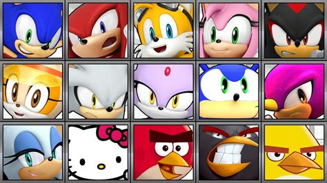 Sonic Runners Characters