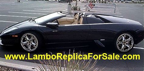 fake lamborghini key lamborghini murcielago replica kit car for sale looks