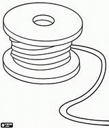 Coloring Wire Cable Pages Spool Reel Tools Utensils Chase Games Designlooter Printable Tape Measure Embroidery Oncoloring 276px 1kb sketch template