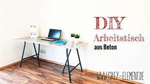 Beton Tisch Diy : einen tisch aus beton selber bauen betonm bel concrete ~ A.2002-acura-tl-radio.info Haus und Dekorationen