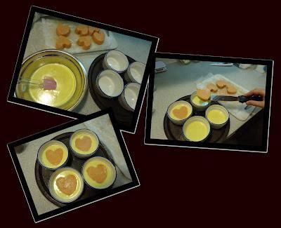 crème brûlée vanille et coeur de fraise paperblog