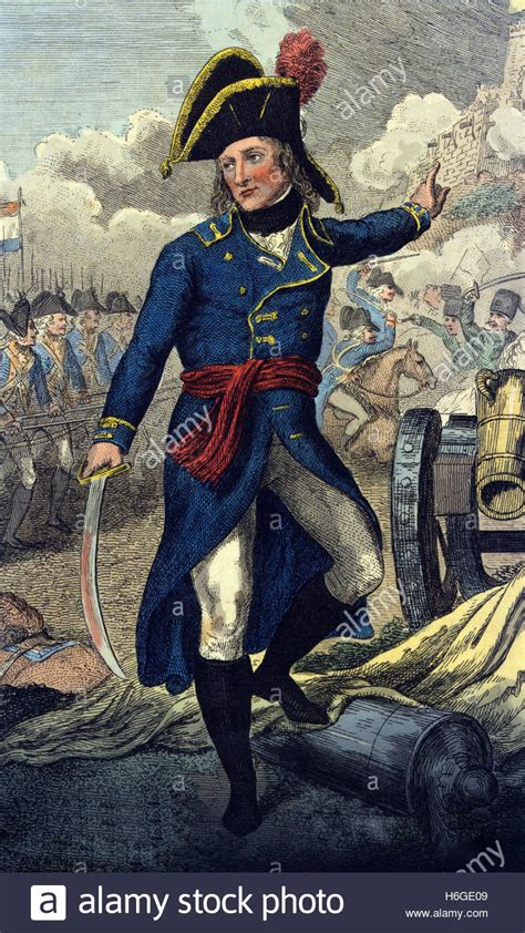 siege napoleon the siege of toulon 1793 an coloured engraving