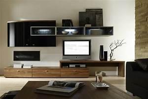 Meuble Salon Bois : charmant amenagement petite cuisine ouverte 17 meuble tv bois meuble teck salon avec meuble ~ Teatrodelosmanantiales.com Idées de Décoration