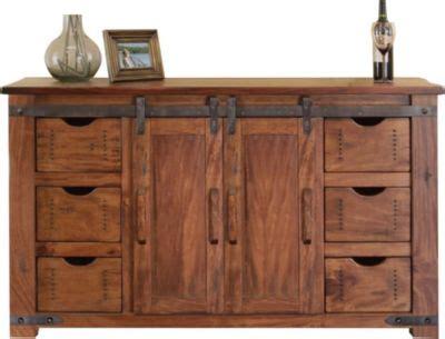 intl furniture parota   barn door tv stand