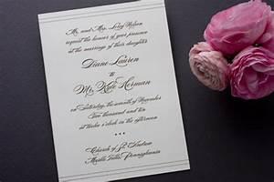 classic noir allure wedding invitations invitation crush With classic allure wedding invitations