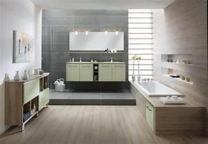 les salles de bains tendance pastel de schmidt With salles de bains schmidt