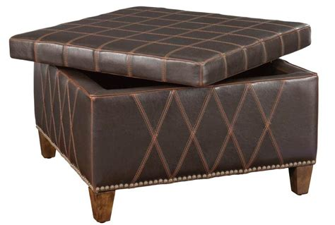 Leather Ottoman Coffee Table With Storage  Coffee Table