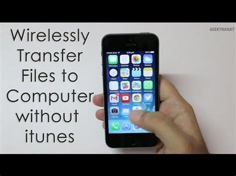 transfer to iphone without itunes how to transfer files from pc to iphone ipod without