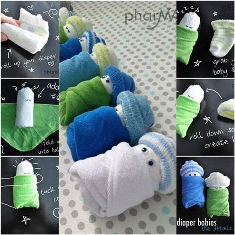 Learn How To Make Cute Adorable Diaper Babies  Find Fun