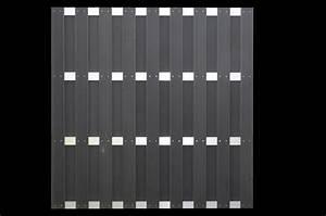 Wpc Platten Günstig : jinan serie anthrazit alu wpc 180x180cm 44731 g nstig kaufen neu ~ Orissabook.com Haus und Dekorationen