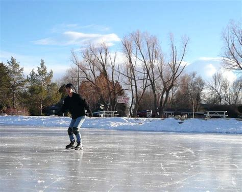 Ice Skating at Sheldon Lake