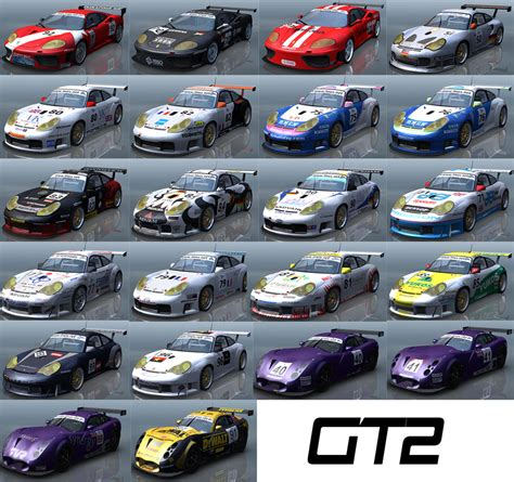 Cars List by 2004 Lmes Gt Pack Released Virtualr Net 100