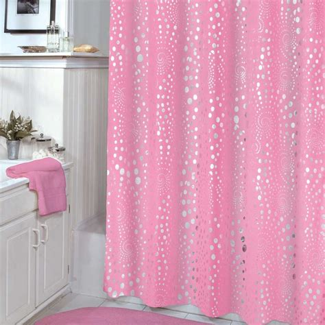 pink shower curtains 75 inch veratex pink shower curtain with consumer reviews