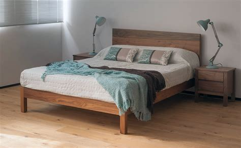malabar contemporary wooden bed natural bed company