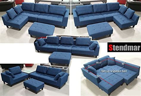 Stendmar Sectional Sofa by New Multifunction Sectional Sofa In Blue Jean Fabric S160b