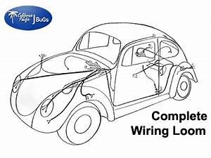 Classic Vw Beetle Diagrams : vw complete wiring kit beetle 1968 1969 vw parts ~ A.2002-acura-tl-radio.info Haus und Dekorationen