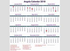 Angola Calendar 2018 newspicturesxyz