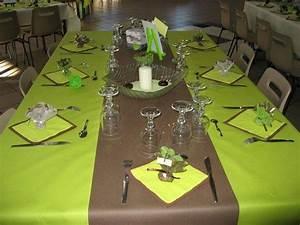 Deco Vert Anis : notre mariage le 13 06 09 vert anis vert et chocolats ~ Teatrodelosmanantiales.com Idées de Décoration