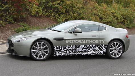 Aston Martin Vantage Test Mule Spy Shots