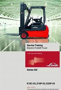 Linde Electrical Forklift Truck 335