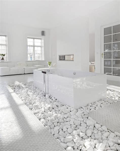 White Spa Bathroom by White White Bathroom House