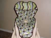 b 620 sewing high chair cover on peg perego jungle pattern and seat covers