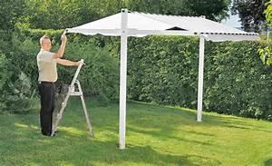 pavillon selber bauen gartenhaus carport selbstde With garten planen mit pavillon für balkon