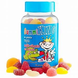 Gummi King, Multi-Vitamin & Mineral, For Kids, 60 Gummies ...
