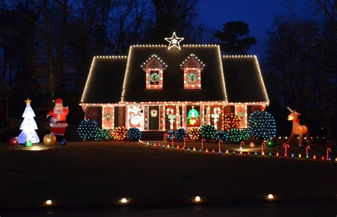 beautiful design ideas christmas house lights for hall