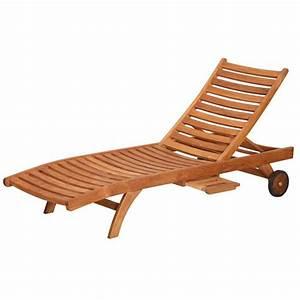 Chaise Bain De Soleil : chaise longue bain de soleil galbe en bois teck achat vente chaise longue chaise longue bain ~ Teatrodelosmanantiales.com Idées de Décoration