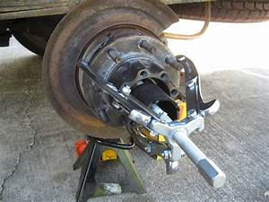Parking Brake Backing Plate Installation - With Pictures