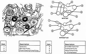 I Need A Serpentine Belt Diagram For A 1995 Ford Aerostar