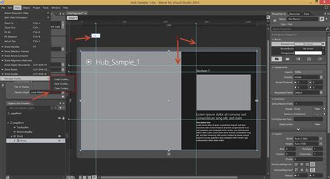 blend visual studio erase template new features in blend for visual studio 2013 microsoft