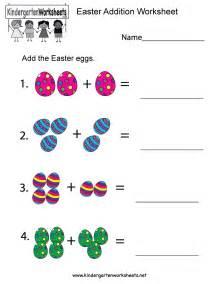bunny nursery easter addition worksheet free kindergarten