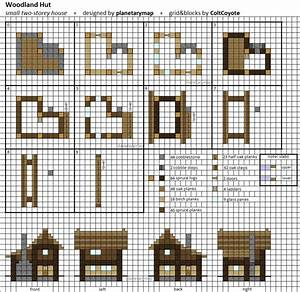 Woodland Hut - Small Minecraft House Blueprint by ...