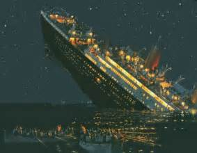 A Real Picture Of The Titanic Sinking by Blade 7184 Costa Concordia Vs Titanic