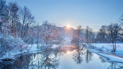 Bing Loisach Kochelsee River Germany Microsoft Winter