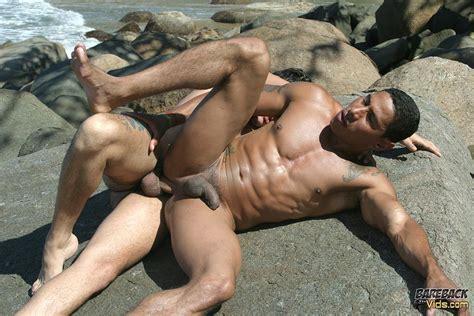 Brazilian Beach Buddies Fucking Bareback At The Nude Beach