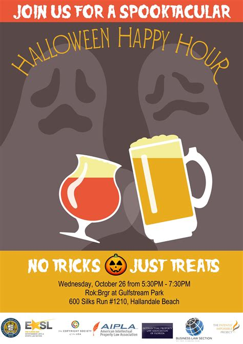 halloween happy hour invitation festival collections