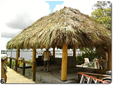 Tiki Hut Construction by Custom Tiki Hut Construction Ta Bay Area Florida
