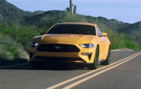 Ford Unveils The 2018 Mustang