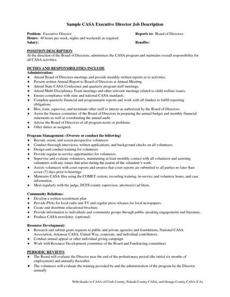 sample board member job description pernillahelmersson