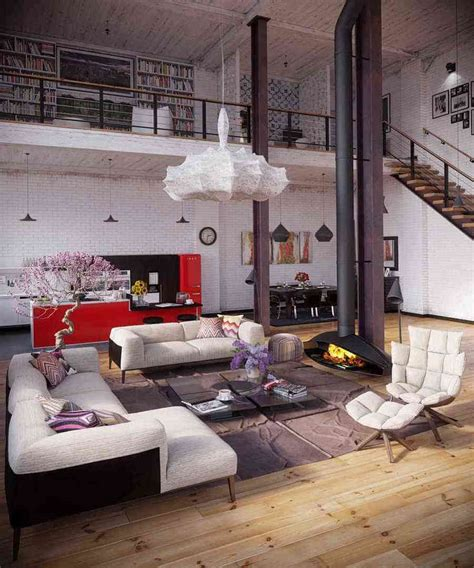 living room apartment warehouse apartment design the creative Industrial