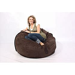 Lovesac Citysac by Lovesac Citysac 4 Foot Lounge Chair Espresso Brown